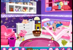 Игра Игра Уборка детской комнаты