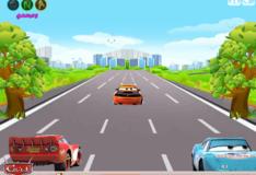 Игра Игра Тачки на дороге