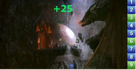 Игра Амазонки: найдите числа