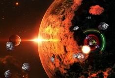 Игра Расстреливаем астероиды