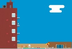 Игра Балконный дайвинг