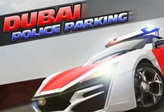 Игра Парковка полицейской машины в Дубае