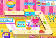 Игра Игра Линия по производству пирожных