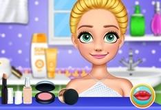 Игра Летний макияж для принцессы-блондинки