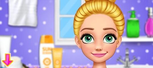 Летний макияж для принцессы-блондинки