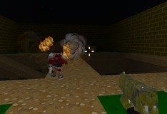 Игра Blocky Combat Swat: Killing zombie