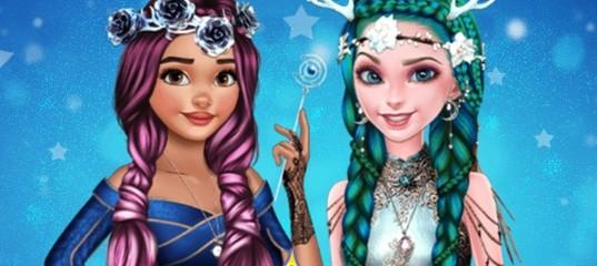 Фэнтезийные прически для принцесс