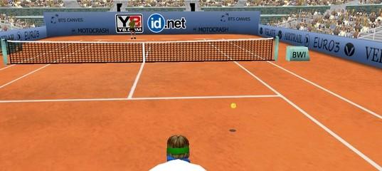 Трехмерный теннис нового поколения