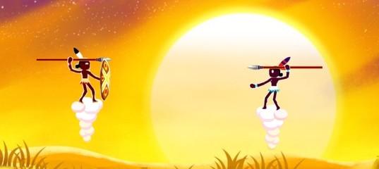 Охотники с копьями