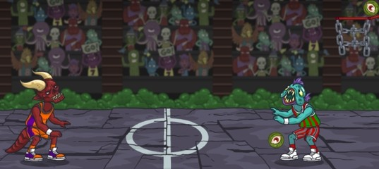 Баскетбол с монстрами