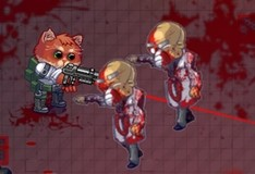 Игра Бронированный котенок
