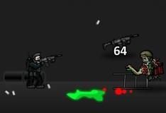 Игра Ночь в окружении зомби