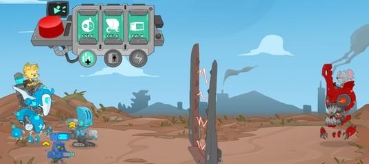 Эпические бои роботов