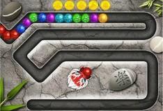Игра Oriental Marble Blast