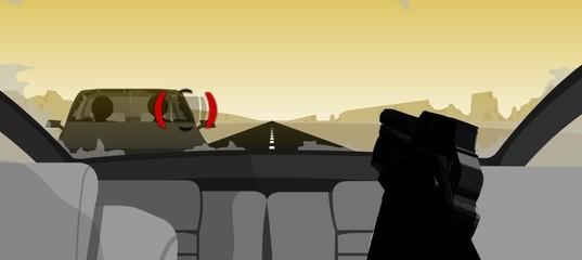 Дорога в пустыне: Месть Винни
