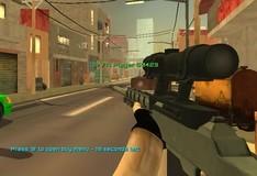 Игра Вооруженные силы против бандитов