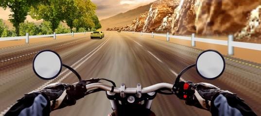 Экстремальная гонка по автостраде