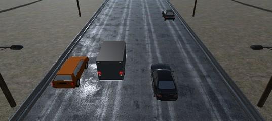 Гонки по шоссе 3D