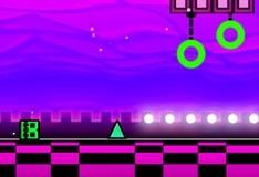 Игра Геометрический неоновый рывок на морозе
