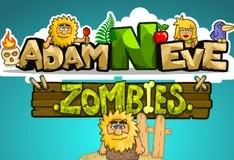 Игра Адам и Ева. Зомби.