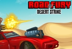 Игра Road of Fury: Desert Strike