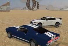 Игра Сумасшедшие трюки на машинах