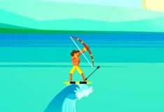 Игра Лучники-серферы