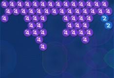 Игра Пузырьки с номерами