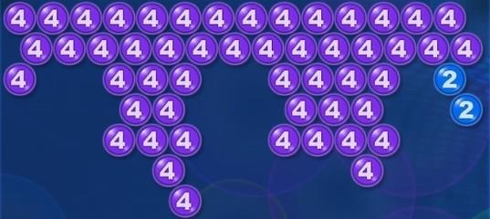 Пузырьки с номерами