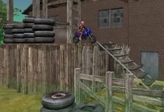 Игра Гонки на мотоциклах по пустоши