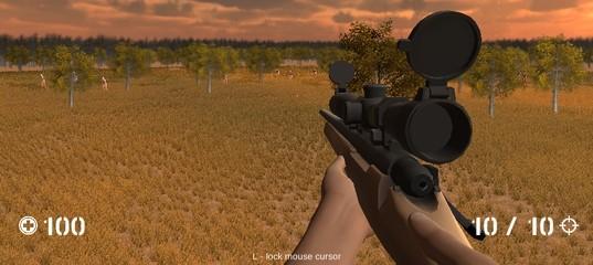 Стрельба по зомби из снайперки