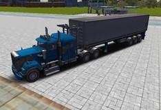 Игра Парковка крутых грузовиков 3D
