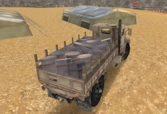Игра Доставщик армейских грузов