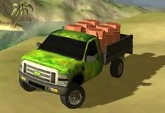 Игра Доставка грузов в тропиках 3D