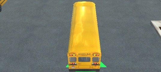 Мастерская парковка автобуса