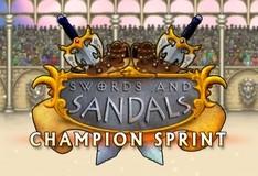 Игра Мечи и сандалии: спринт чемпионов