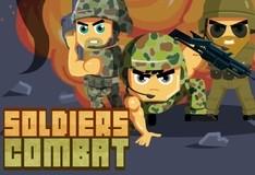 Игра Битва солдат
