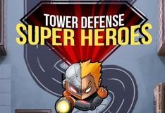 Игра Супергерои защищают башню