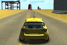 Игра Экстремальные трюки на машине 3D