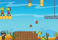 Игра Physics Zombie Shooter