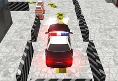 Игра Парковка полицейской машины