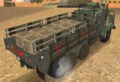 Игра Доставщик армейских грузов 2