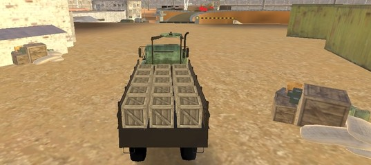 Доставщик армейских грузов 2