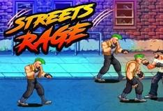 Игра Яростный уличный боец