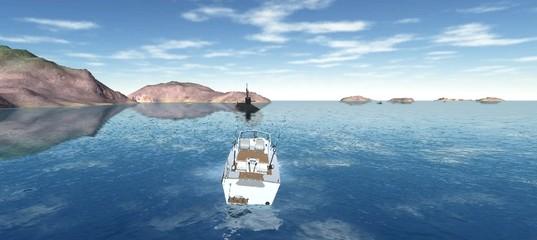 Симулятор лодки
