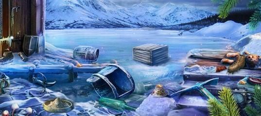 Хижина подо льдом