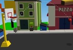 Игра Уличный баскетбол 3D