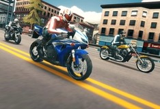 Игра Езда по шоссе на байке