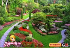 Игра Спрятанные буквы в японском саду