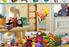 Найди игрушки в детской комнате